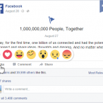 Facebook Adds Emotional 'Reactions' to the Like Button