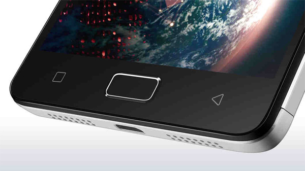 Lenovo Vibe P1 with finger print sensor