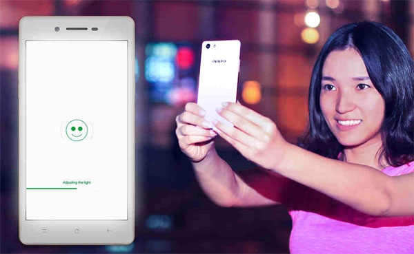 Oppo Neo 7 screen flash