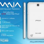 Cherry Mobile MAIA Pad Plus is an Intel Powered Tablet with Android Lollipop OS for ₱2,999