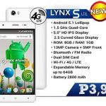 SKK Mobile Lynx S LTE with 4G Connectivity Priced ₱3,999 Only – Full Specs and Features