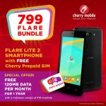 Cherry Mobile Offers the Flare Lite 2 for ₱799 as Cherry Prepaid Bundle