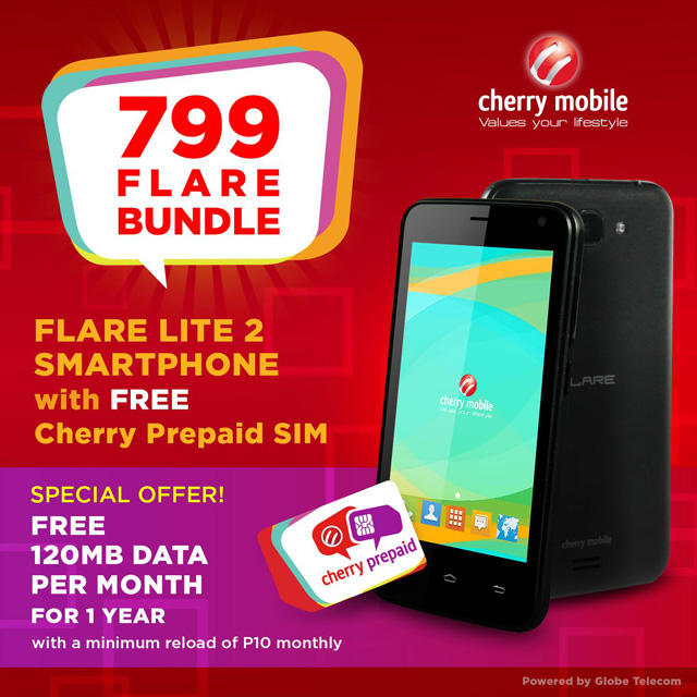 Cherry Mobile Offers the Flare Lite 2 for ₱799 as Cherry