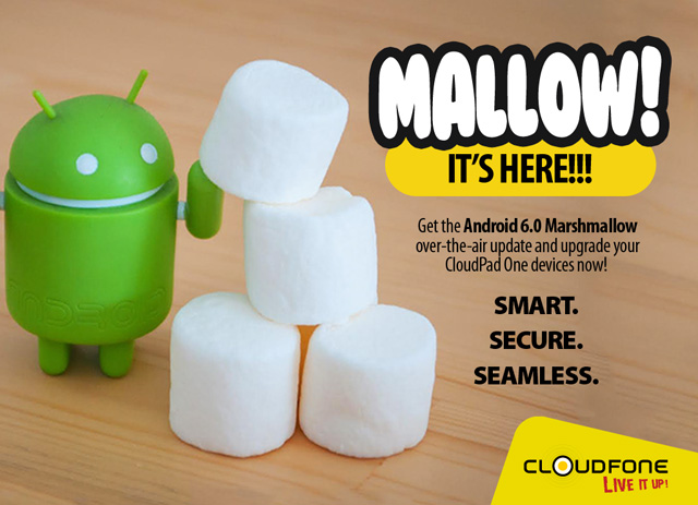 CloudFone Releases Android Marshmallow Update for CloudPad One Tablets