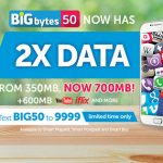 Smart's BIGBYTES 50 Now Has 700MB of Data for the Same Price and Validity