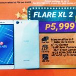 Cherry Mobile Flare XL 2 has 6-inch Display and Android 6.0 Marshmallow OS