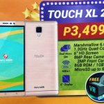 Cherry Mobile Touch XL 2 comes with Free VR Glasses for ₱3,499
