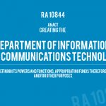 PNoy Signs RA 10844 Creating Department of Information and Communications Technology