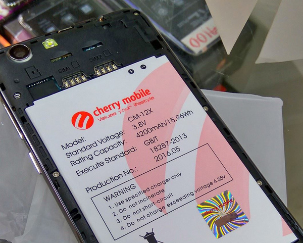 Cherry Mobile Flare S4 Max - battery
