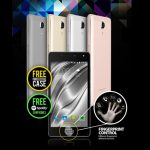 Fingerprint sensor of CloudFone Thrill Access launches different apps with each finger