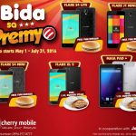 Promo: FREE Yum Burger for a Cherry Mobile Smartphone