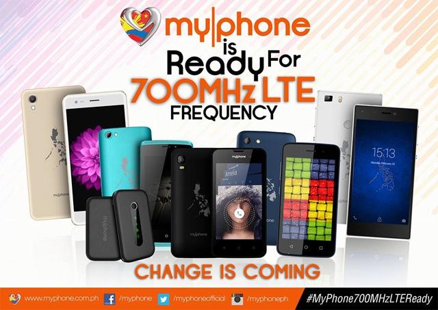 MyPhone 700MHz