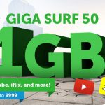 New Smart Giga Surf 50 Offers 1GB Data for ₱50 with 300MB for Video Streaming
