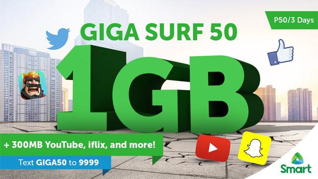 Surf 50 smart