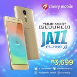 Cherry Mobile Flare J3 with Fingerprint Sensor for ₱3,699 Now Official