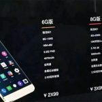 Leaked Photo Shows LeEco Pro 3 smartphone with 8GB of RAM