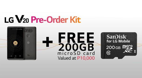 LG V20 pre-order kit Philippines