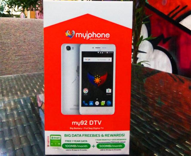 MyPhone my92 DTV