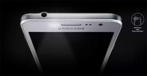 Samsung Galaxy J2 Prime front flash