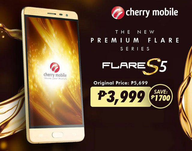 Cherry Mobile Flare S5 Gets Huge Discount With Freebies