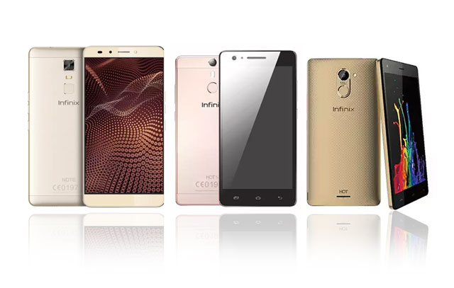 Infinix Note 3 Pro, Hot S and Hot 4
