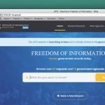 Freedom of Information Website Now Online