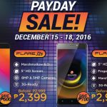 Payday Sale: ₱700 Discount for Cherry Mobile Flare J3 & ₱600 for J2s