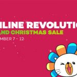 Lazada Flash Sale Schedule for Grand Christmas Sale 2017