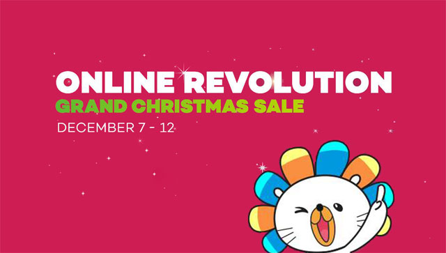 Lazada Grand Christmas Sale 2016