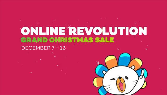 Lazada Grand Christmas Sale 2016