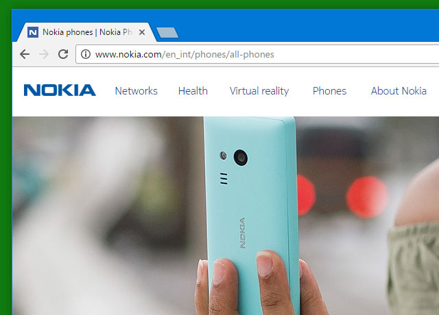 Nokia back at selling phones