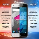 SKK Chronos Ace Lite Revealed; Same 5 Inch Quad Core Phone with 1GB RAM