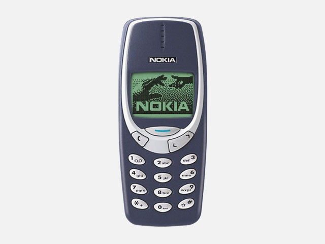 The world's sturdiest phone - the Nokia 3310!