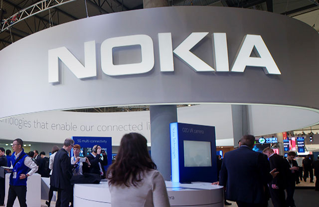 Nokia booth at the Mobile Word Congress last year.
