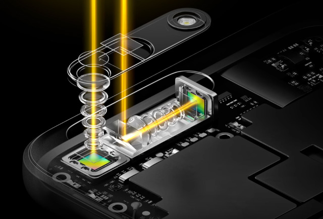 This is how the OPPO 5x Zoom works.