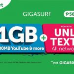 Smart Upgrades GIGASURF50 with Unlimited Texts to All Networks