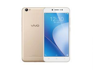 The Vivo V5 Lite in gold.