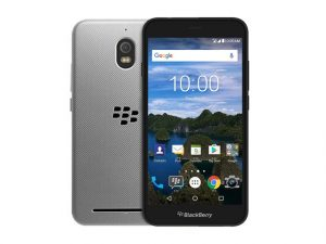 The BlackBerry Aurora smartphone.