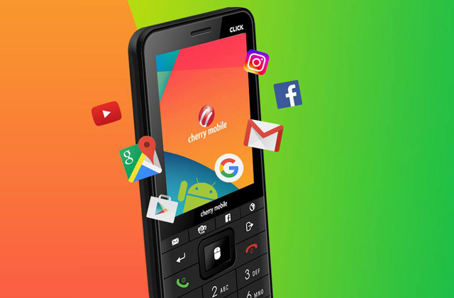 Meet the Android-powered feature phone!