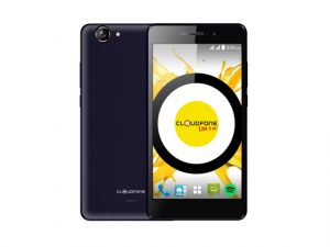 Blue Cloudfone Excite Prime smartphone.