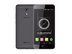 The Cloudfone Next Lite in black.