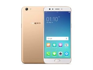 The OPPO F3 Plus in gold.