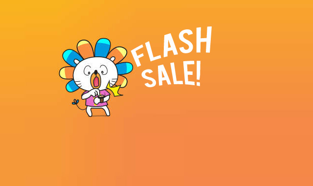 Is it time for a flash sale?
