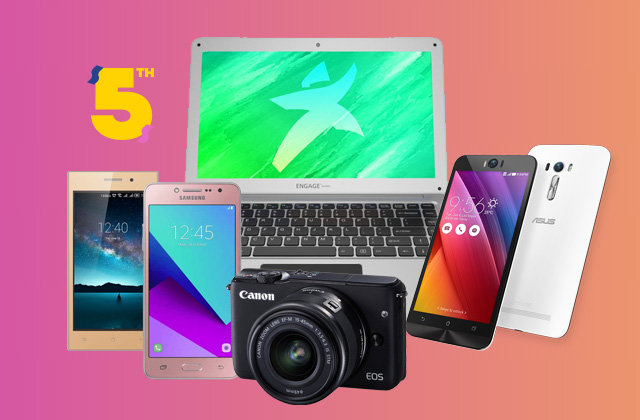 Tech Deals on Lazada Birthday Sale 2017.