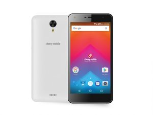 The Cherry Mobile Flare HD 3 smartphone in white.