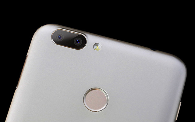 The Dual rear cameras of the suspected re-brand of the Cherry Mobile Flare P1 Plus.