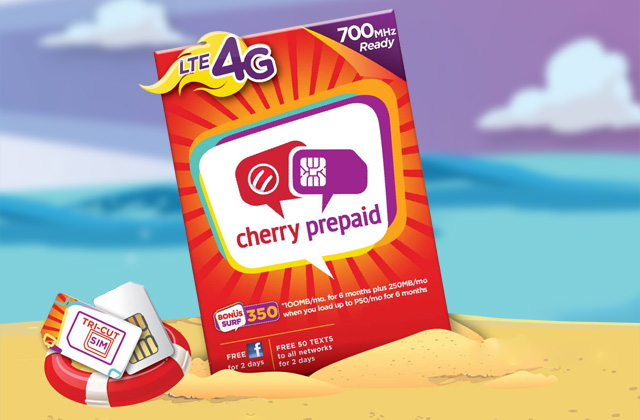 The Cherry Prepaid LTE SIM.