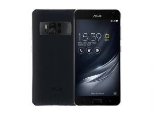The ASUS Zenfone AR smartphone in black.