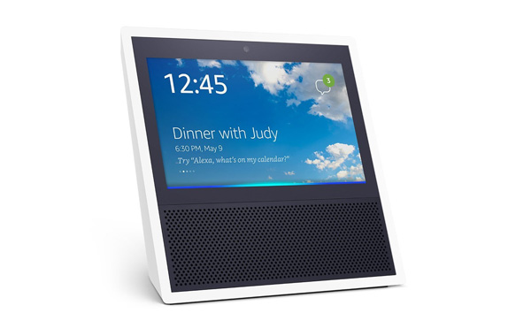 The Amazon Echo Show comes in either white or black.