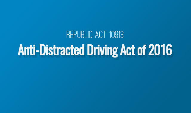 An act defining and penalizing distracted driving.